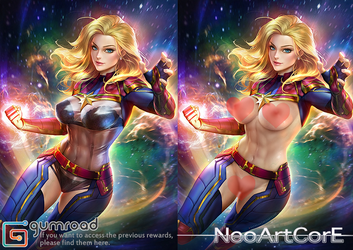 Captain Marvel_nsfw by NeoArtCorE