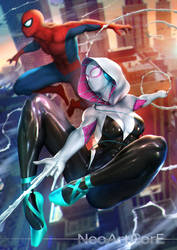 Spider-Gwen by NeoArtCorE