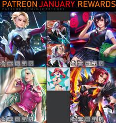 January Reward by NeoArtCorE