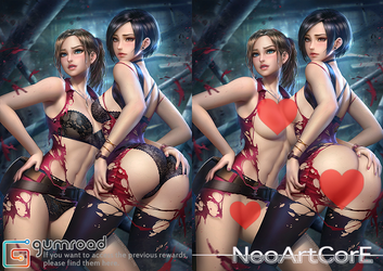 Resident Evil 2_nsfw by NeoArtCorE