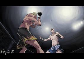 Tito vs Chuck by Darkdux