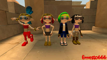 [GMOD HalloVeemoWeen Week 1] Shantae Cosplay by Ernesto666