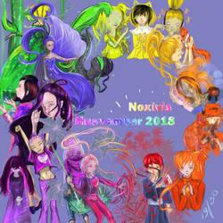 Huevember 2018 by Noxivis