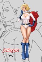DC POWERGIRL by RisQ55