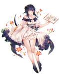 Spring dress by RireNe-RN