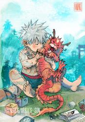 Kakashi's son by kanzzzaki