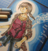 Jodie Holmes from Beyond: Two Souls by ppeach444
