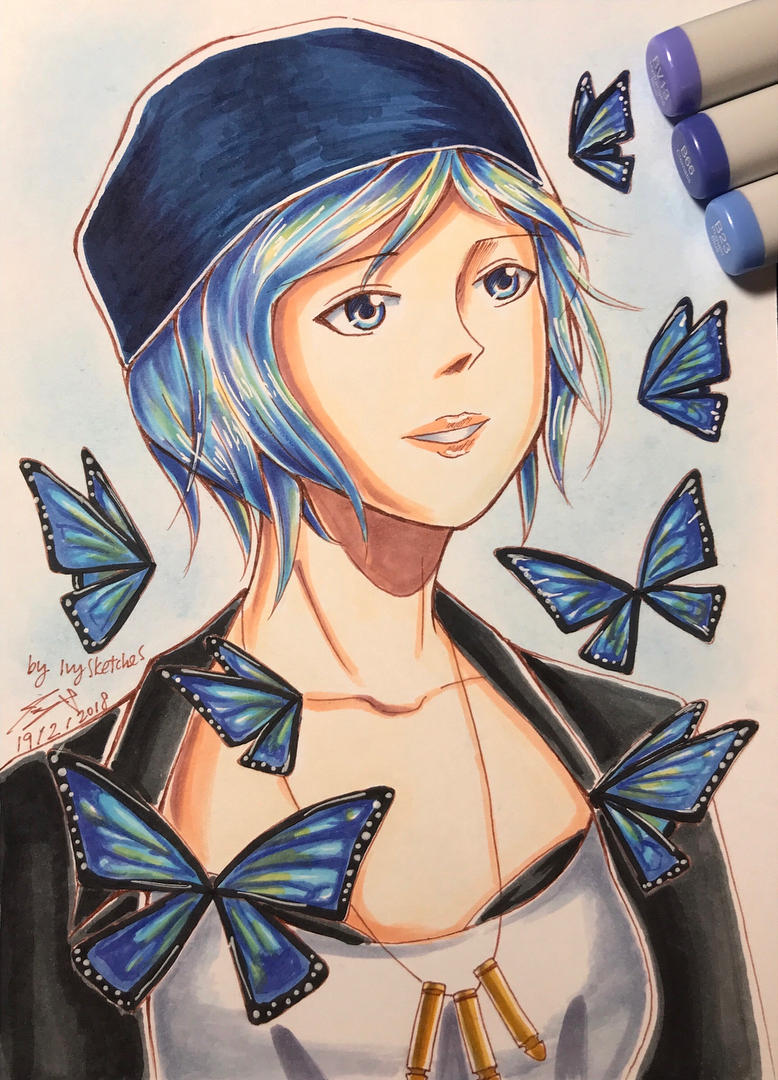 Chloe Price from Life is Strange by ppeach444