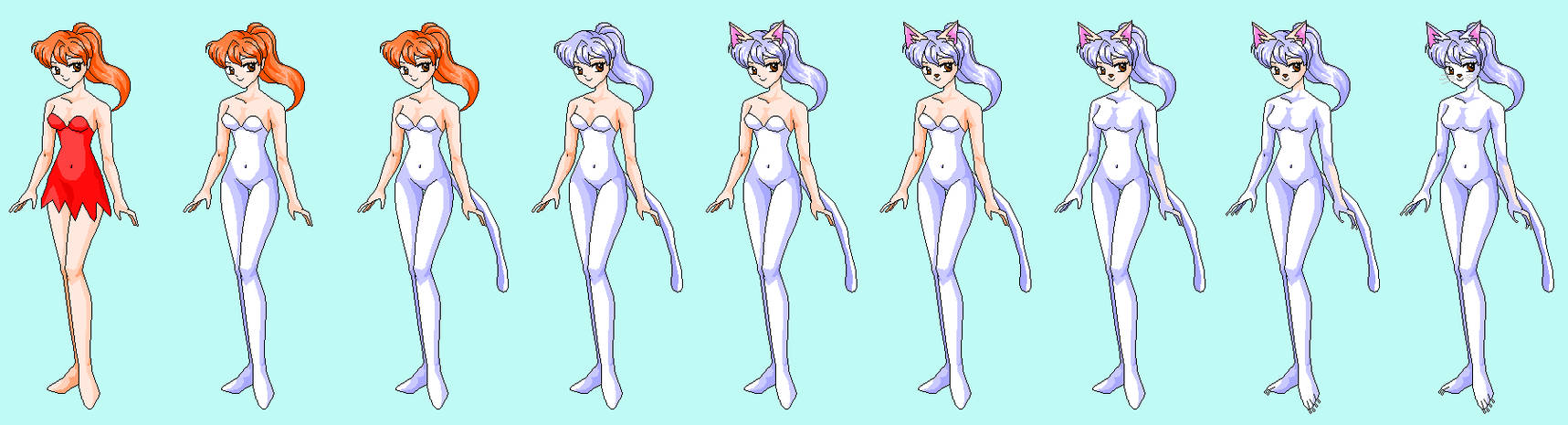 Anthro Cat Girl Transformation Wwwtopsimagescom