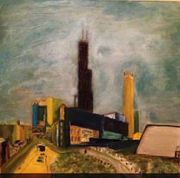 Skyline by blankmediation