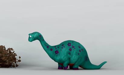 Dino flower 4 by taboada