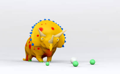 Dino flower 2 by taboada