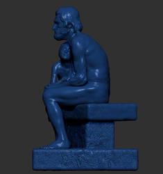 escultura zbrush by taboada