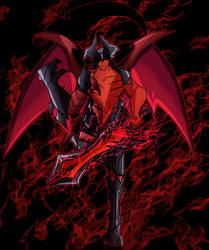 Aatrox the World Ender by Arma-works