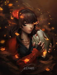 RWBY - Raven Branwen by CivenE