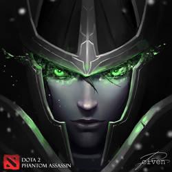 DotA2 - Phantom Assassin by CivenE