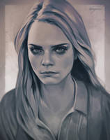 Cara Delevingne by imGuss