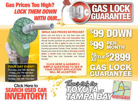 Gas Lock Guarantee Web Site by xstortionist