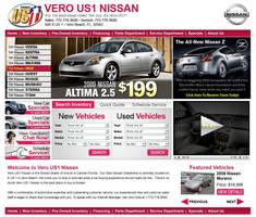 Vero US1 Automotive Web Design by xstortionist