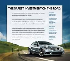 Mercedes Warranty Landing Page by xstortionist