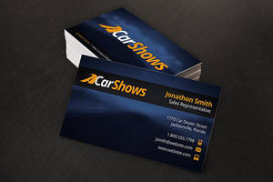 Automotive Business Cards by xstortionist