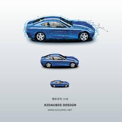 CAR ILLUTRATION 2-KIDAUBIS by kidaubis
