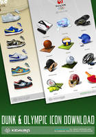 dunk olympic icon download by kidaubis