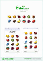 fruit theme -  concept design by kidaubis