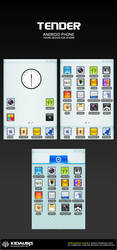 tender - android phone theme by kidaubis