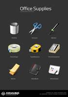 office supplies by kidaubis