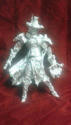 Inquisitor Greyfax - Aluminum Foil Sculpture by TheFoilGuy