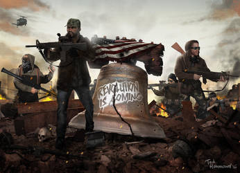 Homefront-The Revolution by ted1air