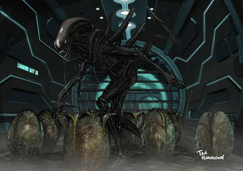 Alien Warrior by ted1air
