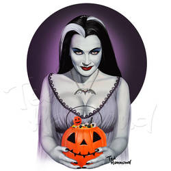 Lily Munster by ted1air
