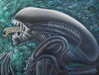 Alien by ShaunStroup