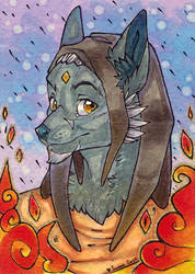 2017 ACEO: Trid by Suane