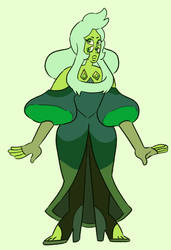 Green Diamond | Fan Fusion by Paryficama