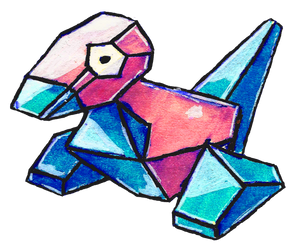 #137 Porygon by little-ampharos
