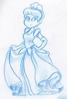 Cinderella by little-ampharos