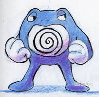 #062 Poliwrath by little-ampharos