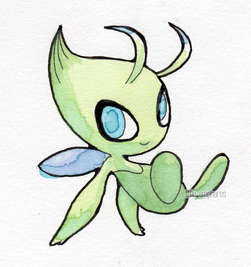 #251 Celebi by little-ampharos