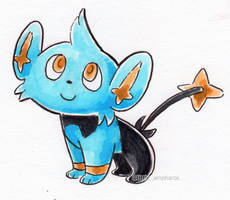 #403 Shinx by little-ampharos