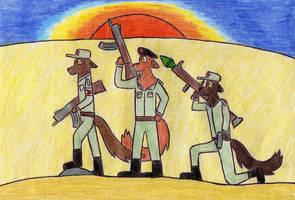 Cuban soldiers in Angola by Kooskia