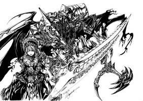 loligoth and servant... by shonensan