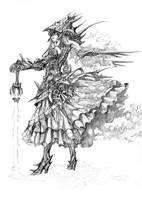 Female Chaos Knight V2 by shonensan