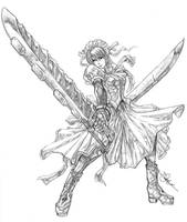 Skilled maid... by shonensan