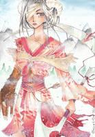 The Warrior by Riinapuri