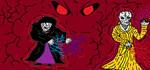 Paint: Dark Lords of the Dark Side by LonelySitlentAngel