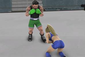 Talking Trash - Boxing by MixedBoxingArt