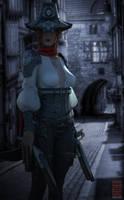 Huntress Corin by sawill77